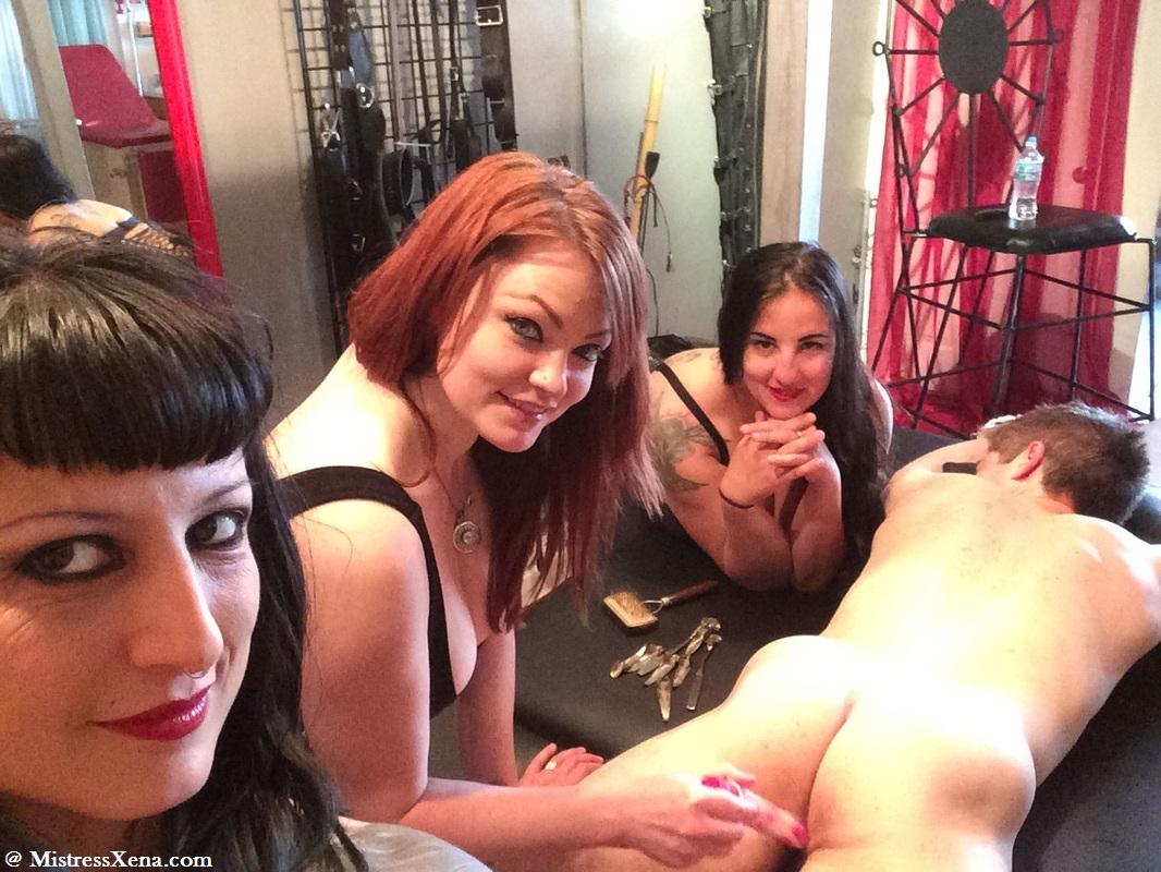 triple femdom action • mistress xena